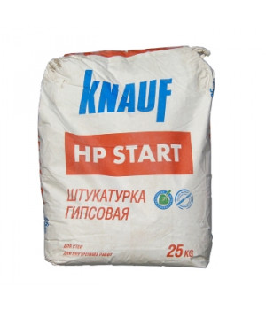 Штукатурка гипсовая ХП Старт 25 кг Кнауф