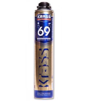 Пена монтажная профессиональная KRASS Professional V69 с увел.выход.890 мл