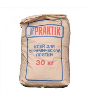 Клей для плитки Praktik 30 кг Bergauf