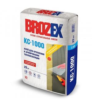 Клей для теплоизоляции и армирования BROZEX КС-1000 25 кг