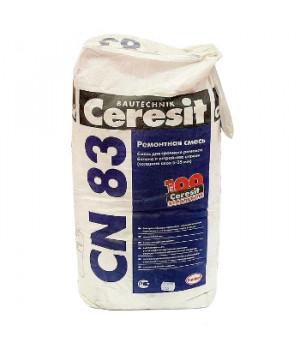 Ремонтная смесь CN83 25 кг Ceresit для бетона