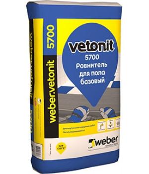 Наливной пол weber.vetonit 5700, 20 кг