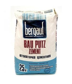 Штукатурка Bau Putz Zement 25 кг Bergauf