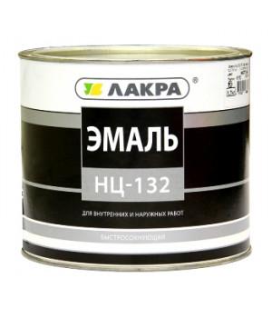 Эмаль НЦ-132 Лакра желтая 1,7 кг