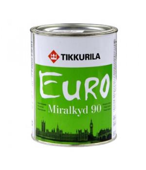 Эмаль алкидная Тиккурила Миралкид 90 база А 0,9 л глянцевая