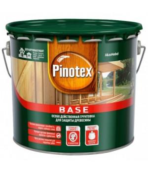 Грунт для дерева под покраску Pinotex Base бесцветный 2,7 л