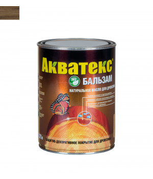 Масло для древесины натуральное Акватекс Бальзам дуб 0,75 л