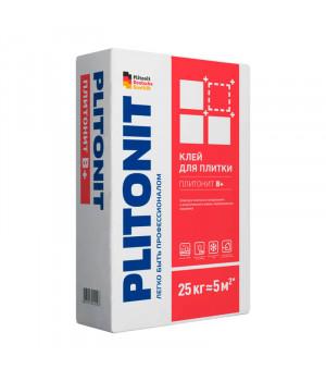 Клей для плитки Плитонит В+ 25 кг