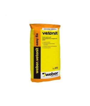 Клей для плитки Изи Фикс 25 кг Weber Vetonit