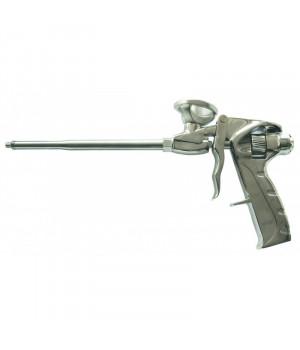 """Пистолет для пены """"Тефлон"""" корпус из алюминиевого сплава, пластмассовая рукоятка """"888"""""""