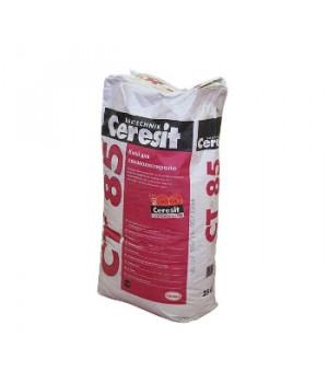 Штукатурно-клеевая смесь CT85 25 кг для пенополистирола Ceresit
