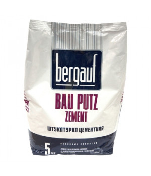 Штукатурка Bau Putz Zement 5 кг Bergauf