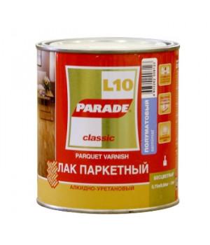 Лак Parade L10 0,75 л паркетный полуматовый