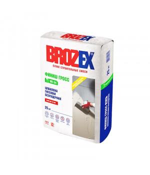 Шпаклевка гипсовая Brozex WR 64 ФИНИШ ГРОСС 25 кг