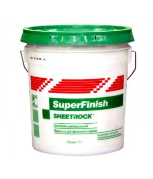 Шпатлевка Super Finish 28 кг DANOGIPS зеленая крышка