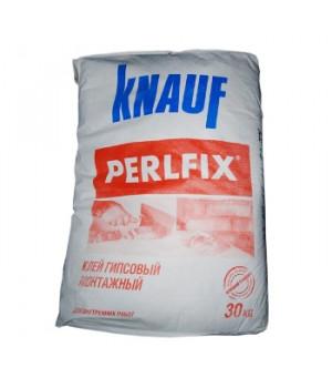 Клей для гипсокартона Перлфикс гипс 30 кг Кнауф