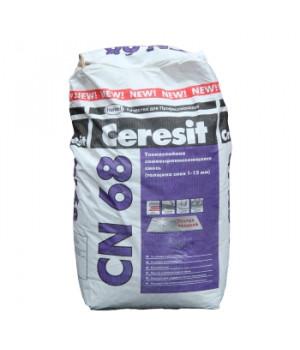 Ровнитель для пола CN68, 25 кг Ceresit тонкослойный