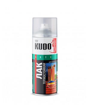 Лак аэрозольный KUDO 0,52 л термостойкий