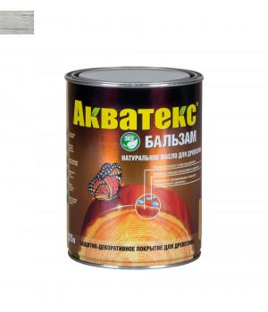 Масло для древесины натуральное Акватекс Бальзам иней 0,75 л