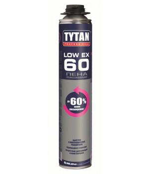 Пена монтажная профессиональная TYTAN Low Expansion O2 750 мл