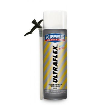 Пена монтажная бытовая KRASS ULTRAFLEX всесезонная 500 мл