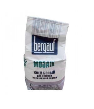Клей для плитки Mosaik белый 5 кг Bergauf