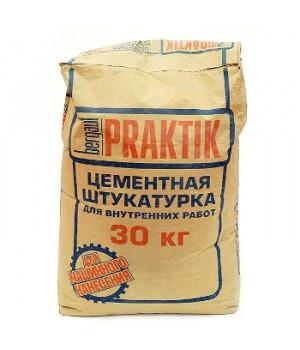 Штукатурка Praktik цементная для внутренних работ 30 кг