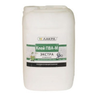 Клей ПВА-М Экстра универсальный 10 кг Лакра
