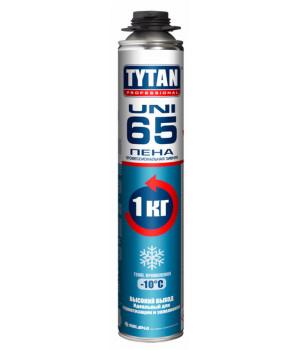 Пена монтажная профессиональная TYTAN 65 UNI зимняя 750 мл