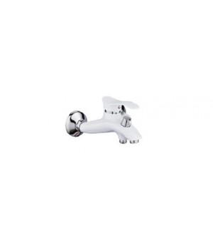 """Смеситель для ванны """"Potato"""" короткий нос P3001Y (матовый хром)"""