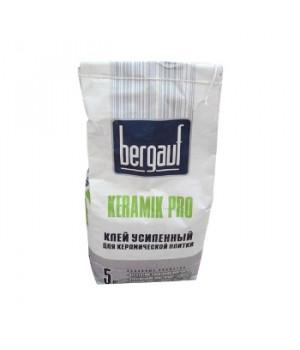 Клей для плитки Pro Keramik 5 кг Bergauf