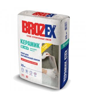 """Клей для плитки керамик """"BROZEX КS 9 25 кг"""