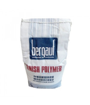 Шпатлевка Finish Polymer+ 5 кг Bergauf полимерная