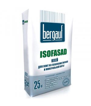 Клеевая смесь Isofasad 25 кг Bergauf для минваты и пенополистирола