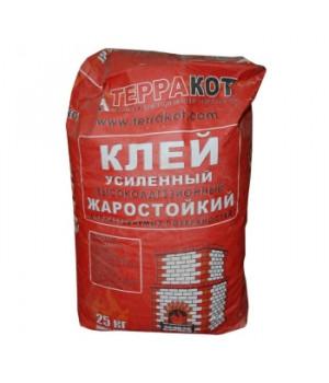 Клей усиленный Терракот 25 кг жаростойкий