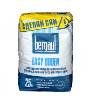 Ровнитель наливной пол Easy Boden 25 кг Bergauf