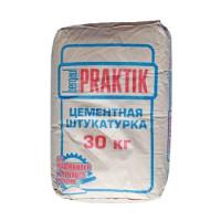 Штукатурка Praktik цементная для наружных работ 30 кг
