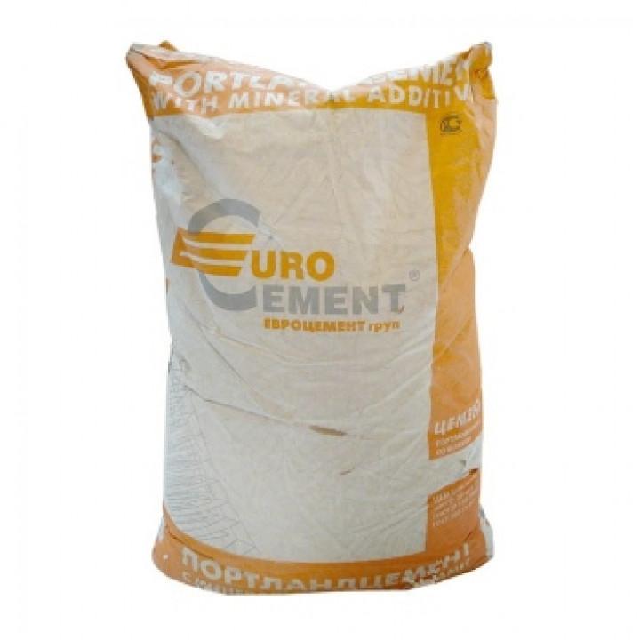Цемент ЦЕМ II/А-Ш 32,5Н (ПЦ-400 Д20), 50кг Евроцемент