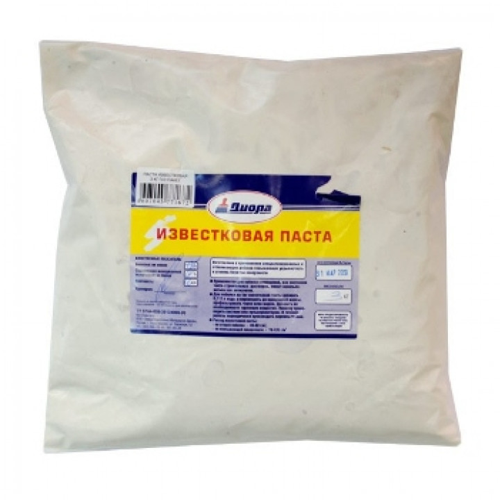 Известковая паста 3 кг побелочная