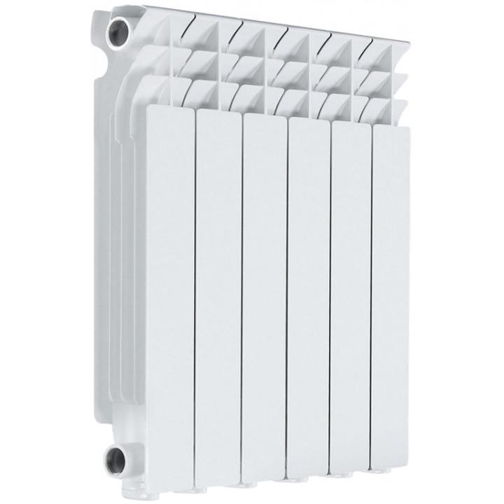 Радиатор отопления алюминиевый 6 секций 500/78 мм LONTEK