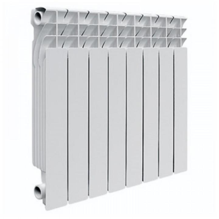 Радиатор отопления алюминиевый 8 секций 500/78 мм LONTEK