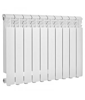 Радиатор отопления алюминиевый 10 секций 350/85 мм Radena