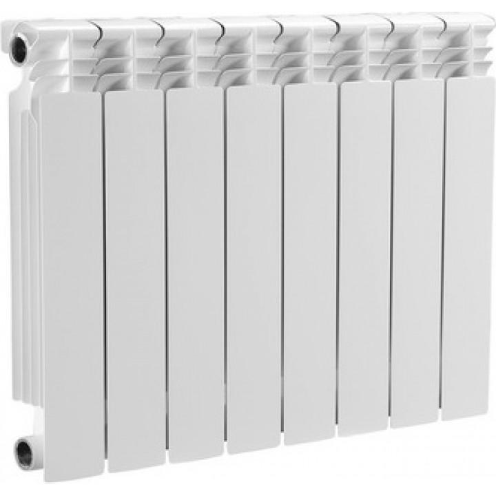 Радиатор отопления алюминиевый 8 секций 500/78 мм DELTA PLUS OGINT