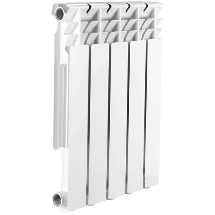 Радиатор отопления алюминиевый 5 секций 500/85 мм Radena