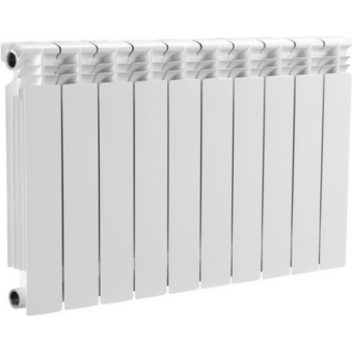 Радиатор отопления алюминиевый 10 секций 500/80 мм OASIS