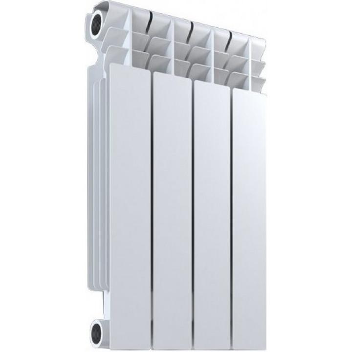 Радиатор отопления биметаллический 4 секции 500/80 мм OASIS