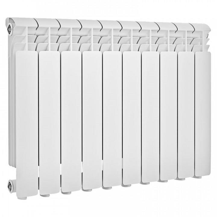 Радиатор отопления алюминиевый 10 секций 500/78 мм LONTEK
