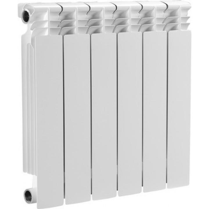 Радиатор отопления алюминиевый 6 секций 500/80 мм OASIS