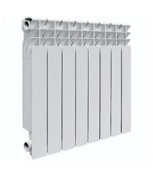 Радиатор отопления алюминиевый 8 секций 500/85 мм Radena