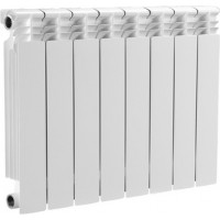 Радиатор отопления алюминиевый 8 секций 500/80 мм OASIS